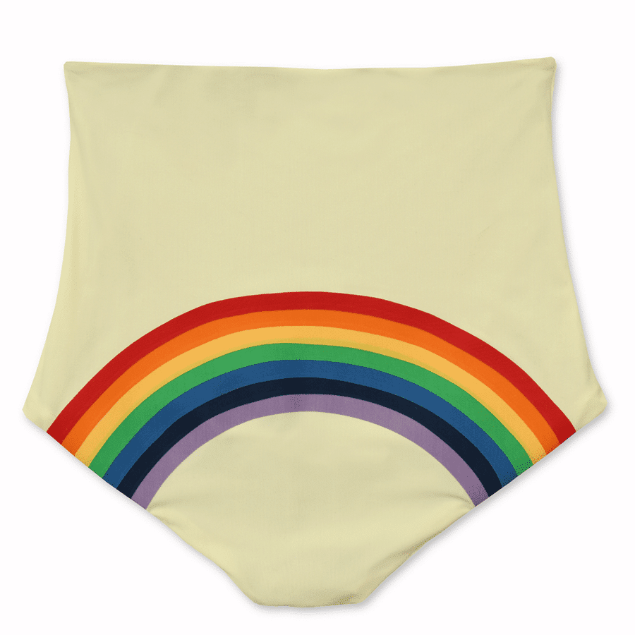hot pants rainbow